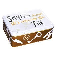 stuff tin