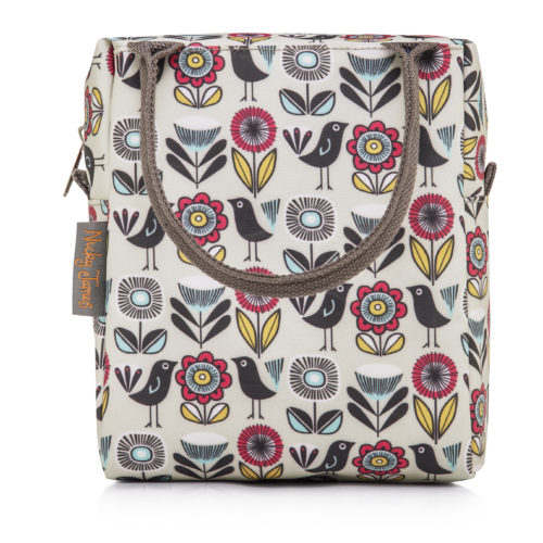 Lunchbag-Fifties floral