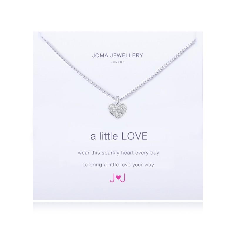 Joma Jewellery A Little Love Necklace Leaf Street