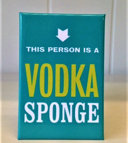 Magnet Vodka Sponge