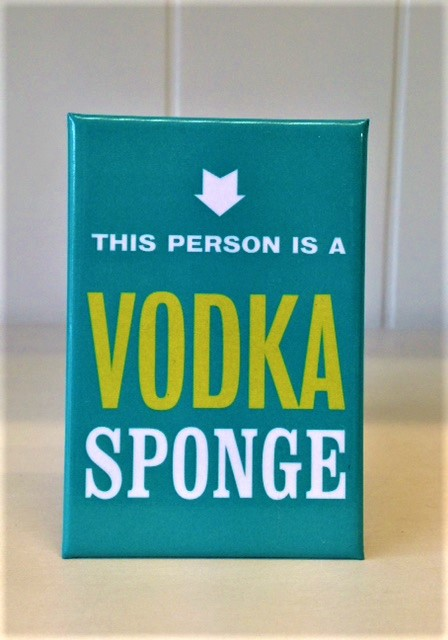 Magnet Vodka Sponge