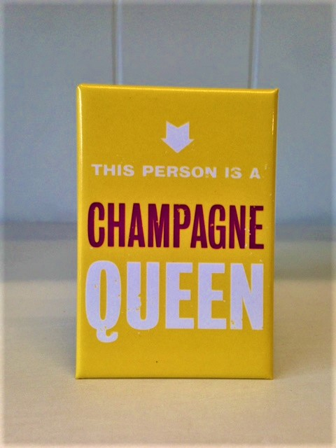 Magnet champagne queen