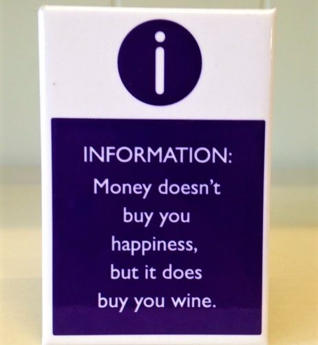 Magnet money does buy you wine