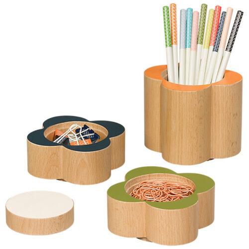 orla wooden desk pots