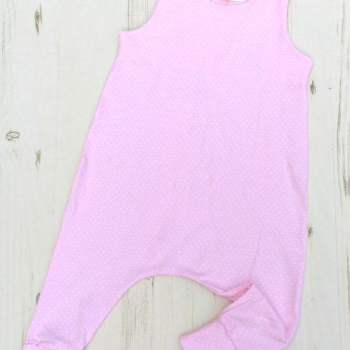 baby pink romper 1