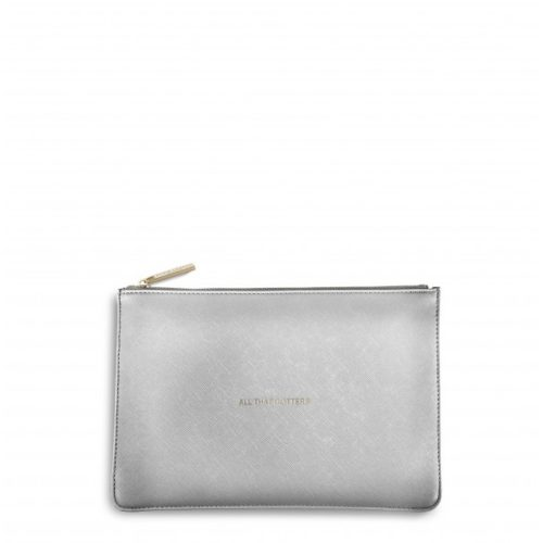 silver pouch