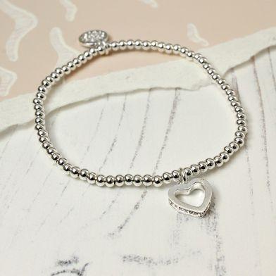 pom new heart bracelet