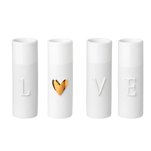 rader love mini vase set