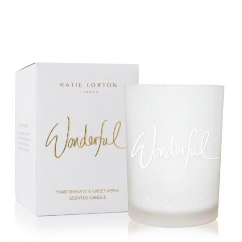 katie wonderful candle
