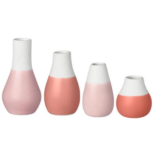 rader pink vases