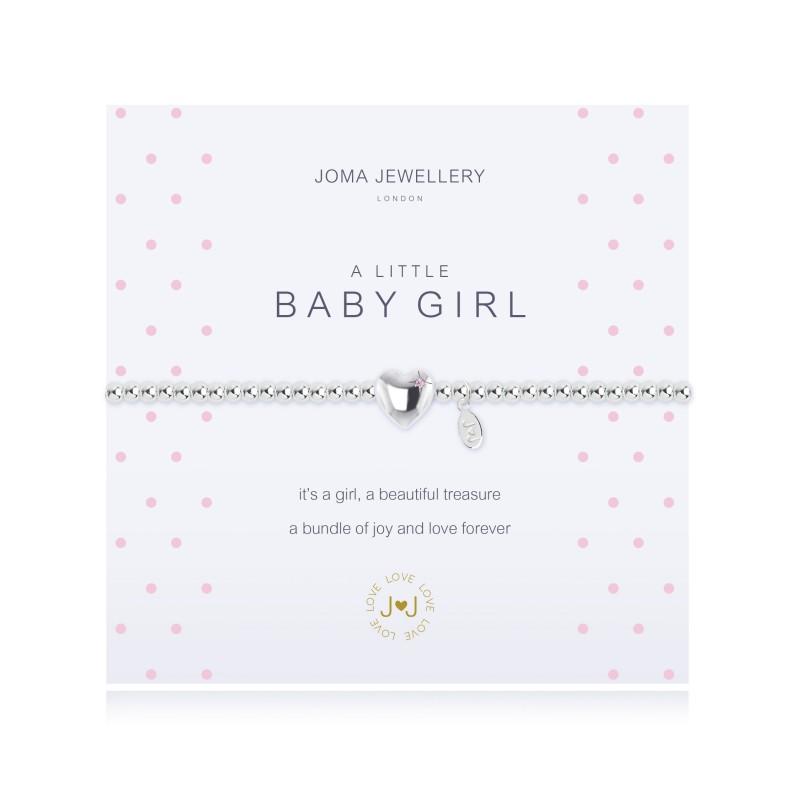 Joma Jewellery A Little Baby Girl Bracelet Leaf Street