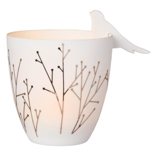 rader bird candle holder