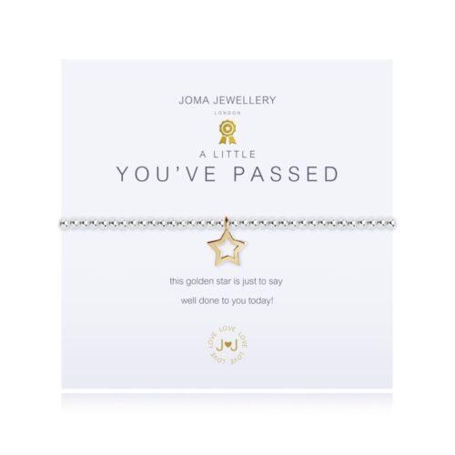 ypu passed