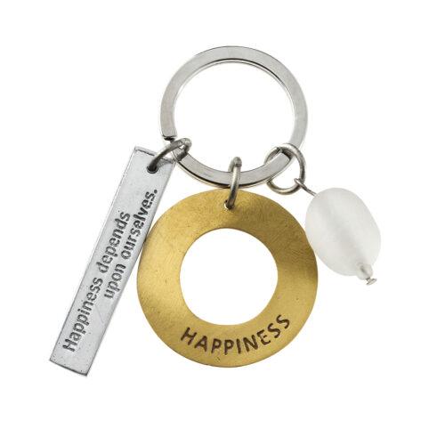 rader happinedd key chain