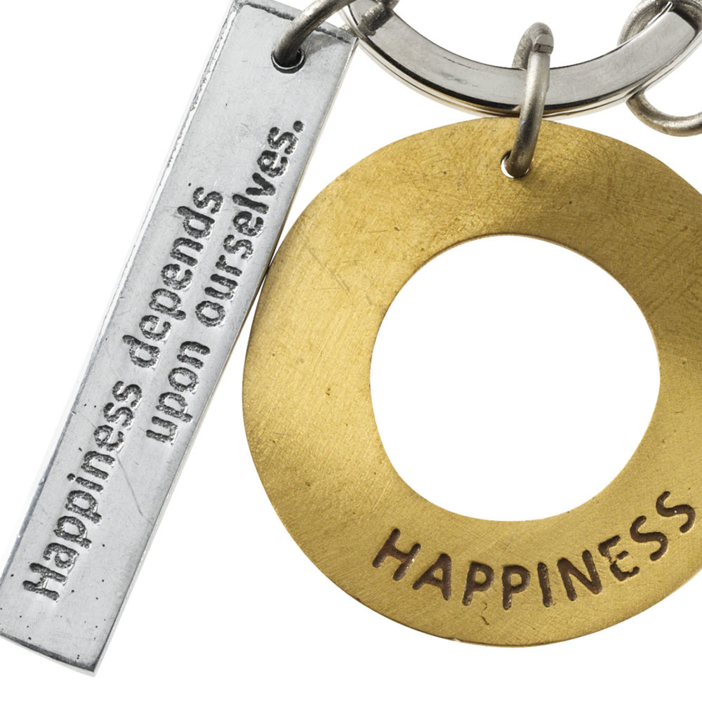 rader happiness key chain 2