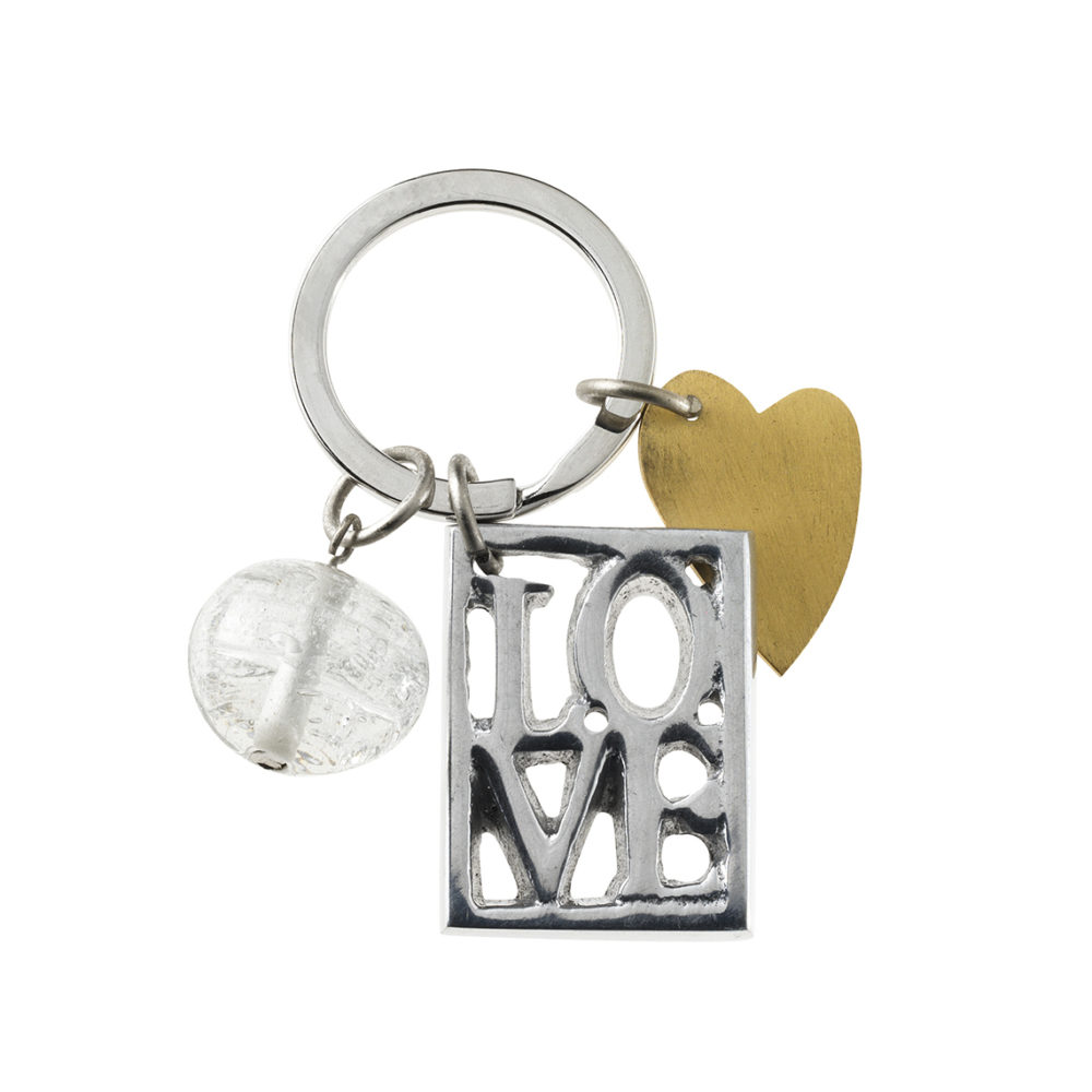 rader love key chain