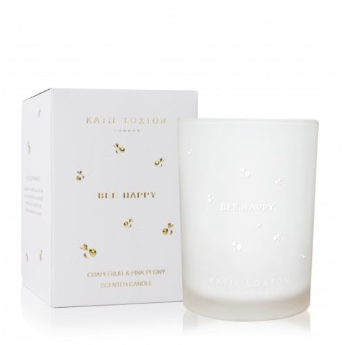 bee happy candle