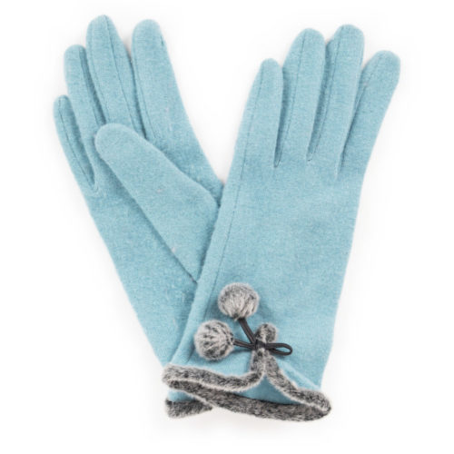powder teal glove