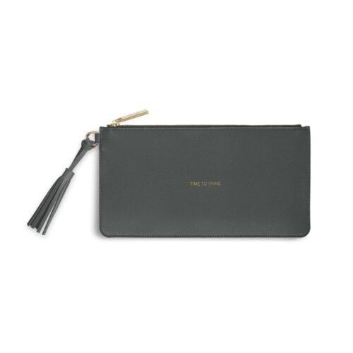 katie grey pouch