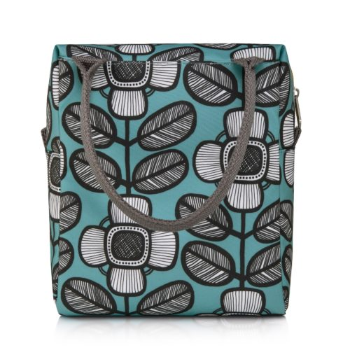 nicky james blue lunch bag
