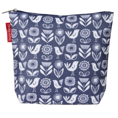 nj large wash bag blue