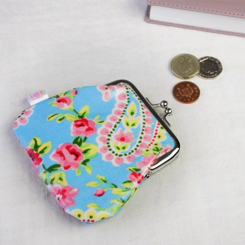 paisley coint purse