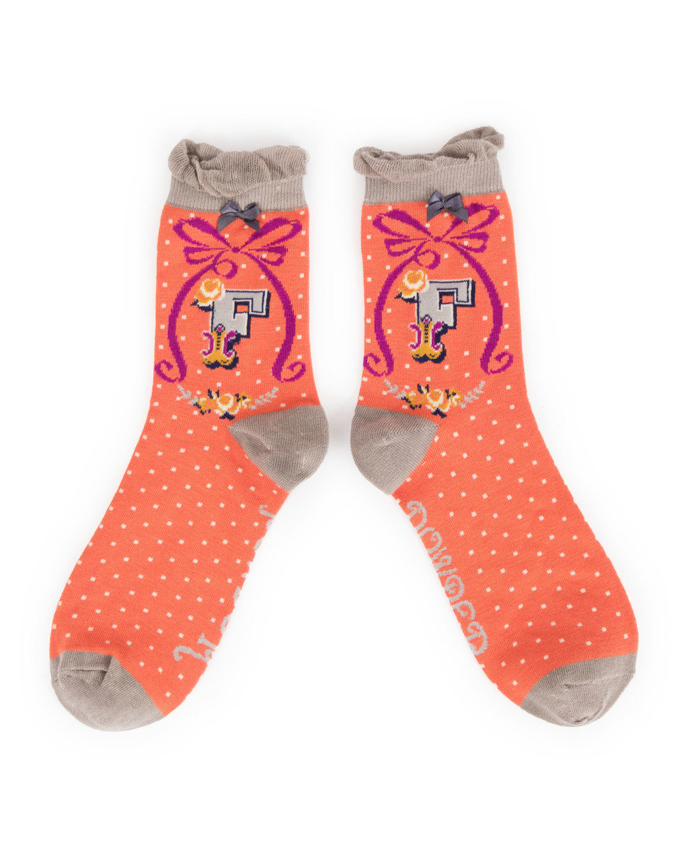 F powder socks