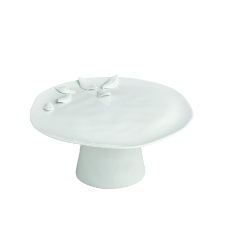 rader porcelain medium cake stand