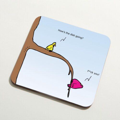 coaster bird