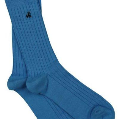 Swole Panda Sky Blue Bamboo Socks