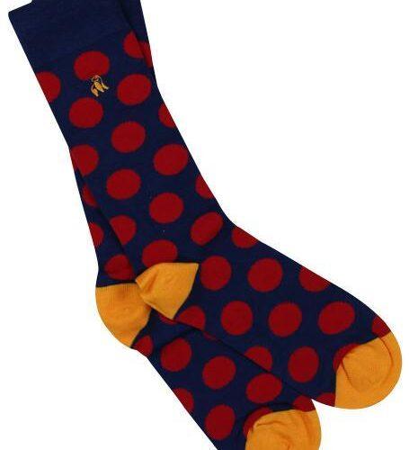 swole panda socks spots