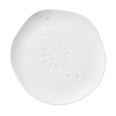 Rader small snowflake plate