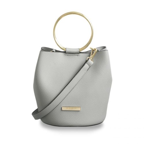 KATIE LOXTON BAG PALE GREY