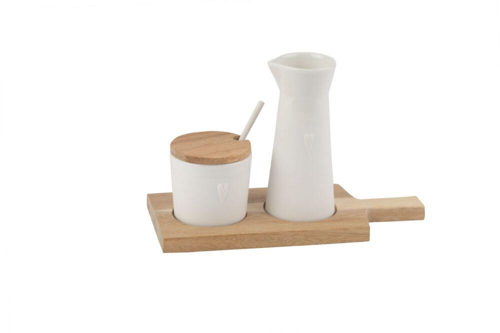 rader milk and sugar pot