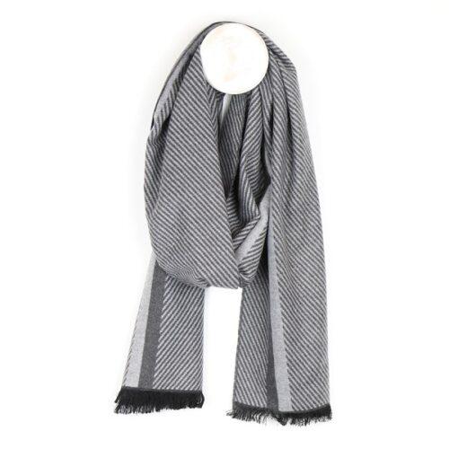 d-grey_herringbone_scarf_for_men