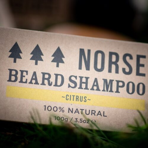 norse citrus beard shampoo