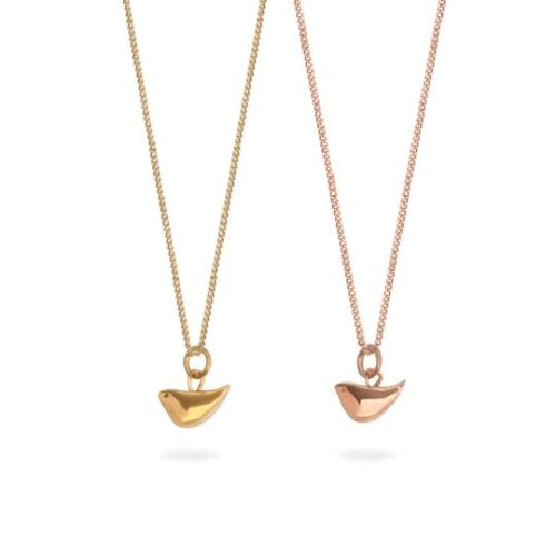 lime tree designs gold bird necklace