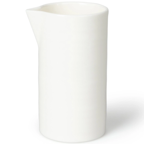 chalk white milk jug