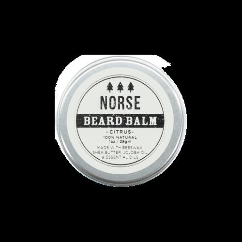 norse citrus beard balm